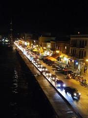 Chios port traffic