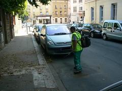 Souffleur en action à Villefranche-sur-Saône