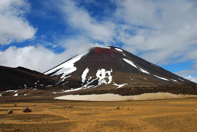 Parque nacional de Tongariro. Nueva Zelanda