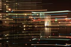 Horizontal light painting