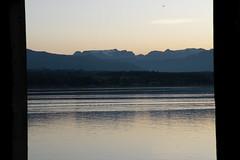 Comox Glacier in the Evening