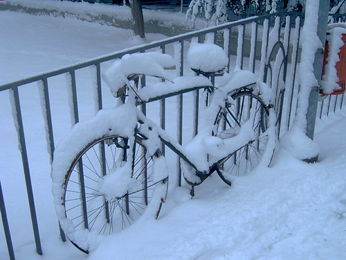 2005 winter italy white snow bicycle fvg ud friuli udine friuliveneziagiulia nordest mywinners