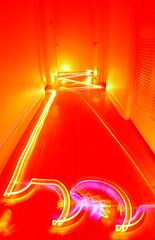 romba led hallway test
