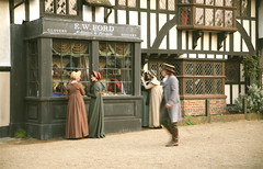 Filming of Jane Austen's Emma For BBC1 in Chilham Village, Kent 'Highbury'