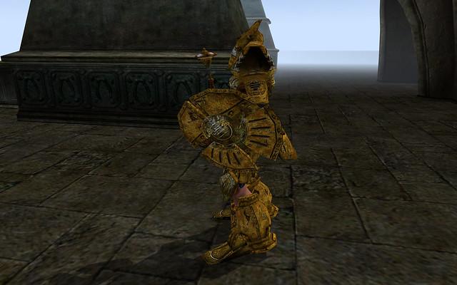 Dwemer Armor, Dwemer Shield, Dwarven Mace 4   The Fantasy ...
