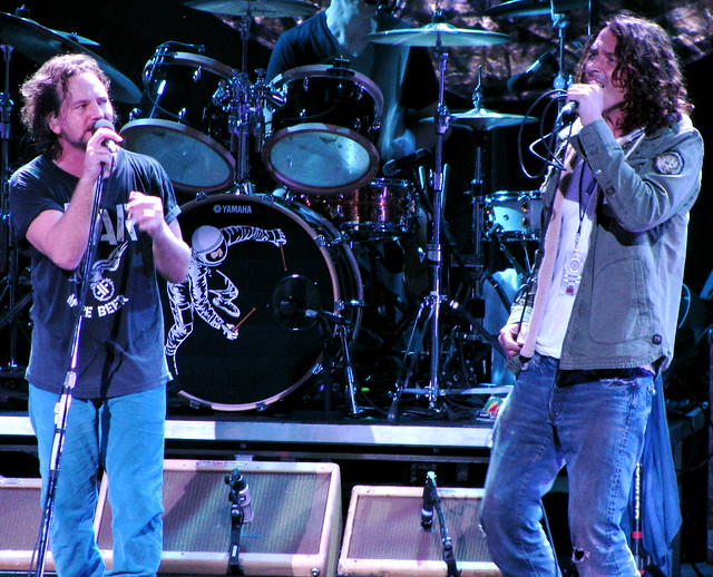 Eddie Vedder And Chris Cornell Eddie Vedder & Chr...
