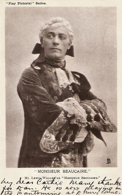 Lewis Waller as Monsieur Beaucaire