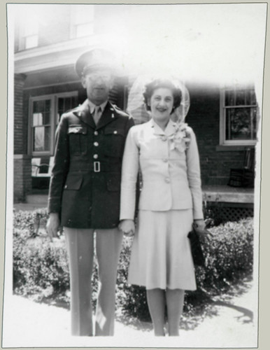 Soldier and bride