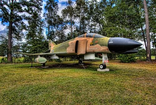 museum plane georgia airplane geotagged nikon aircraft jet aeroplane savannah airforce phantom hdr topaz mcdonnelldouglas mighty8th tonemapped f4c d80 topazadjust geo:lat=32115938 geo:lon=8123523 bigjohnsonphotoblogspotcom