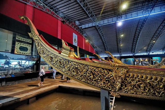 The Royal Barge National Museum in Bangkok, Thailand