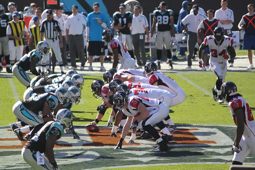 Atlanta Falcons at Carolina Panthers 11-15-09