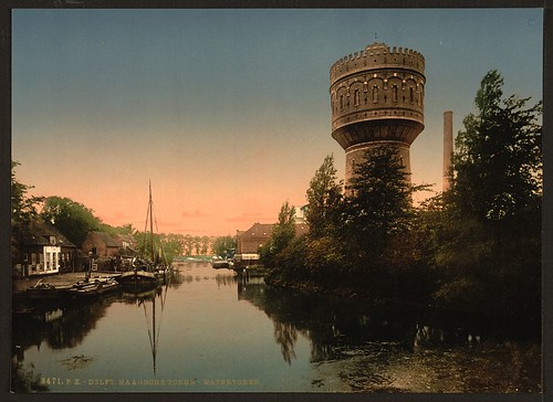 [The water tower, Delft, Holland] (LOC)