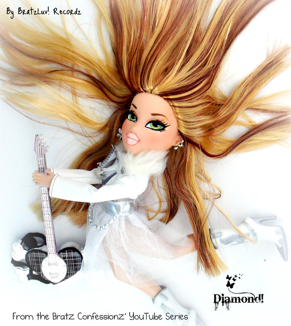(Eff's Contest) Bratz Fashion Iconz Modeling- Diamond CD Cover