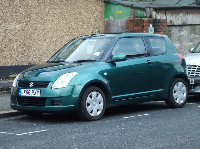 green swift 2006 suzuki swift gl 1328cc by kenjonbro flickr photo sharing. Black Bedroom Furniture Sets. Home Design Ideas