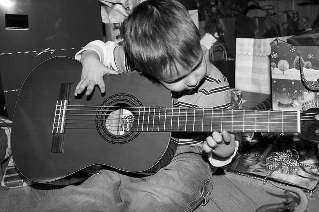 Axel & sa guitare