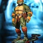 DreamEX 忍者龜系列【柳丁花:米開朗基羅】TMNT Michelangelo 1/6 比例人偶作品