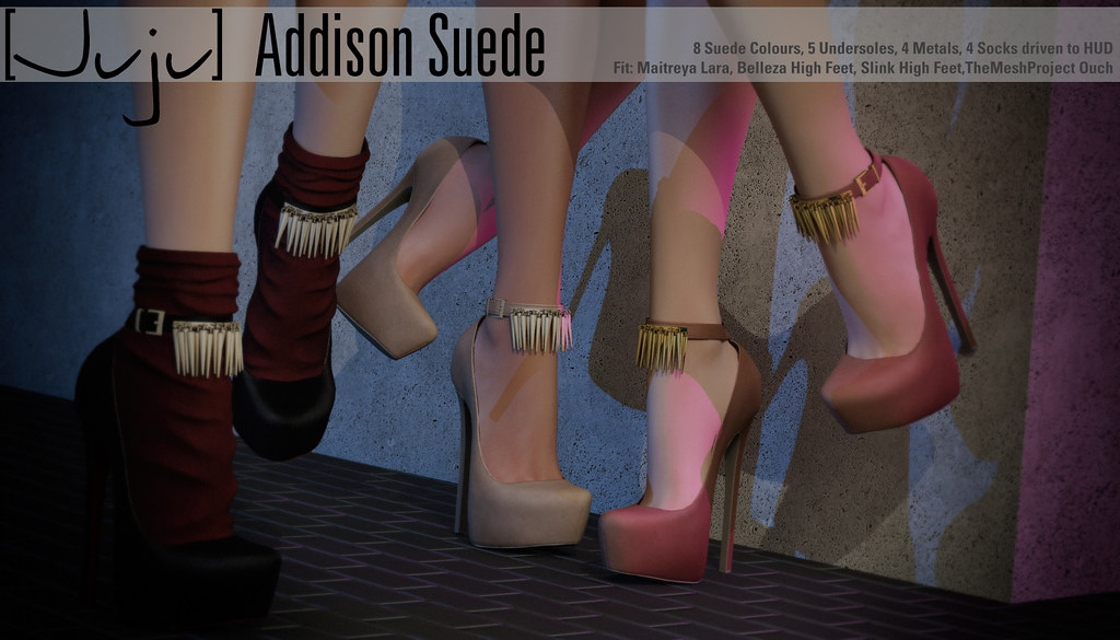 [Juju] Addison (suede) for Kustom9 - SecondLifeHub.com