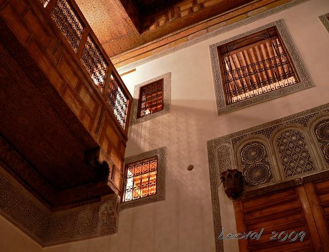 Maison traditionnelle marocaine dar zarafa flickr - Maison marocaine avec patio ...