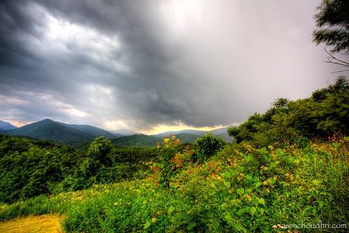 sunset clouds landscape tennessee horizon tripod blueridgemountains hdr canon1740l tonemapped canoneos5dmarkii