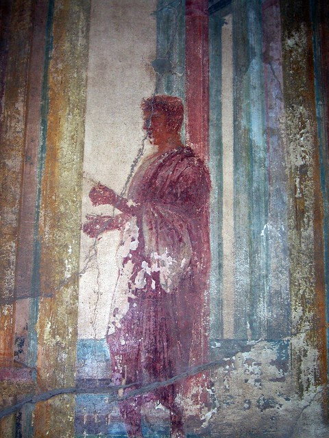 Fresco in the Macellum, Pompeii