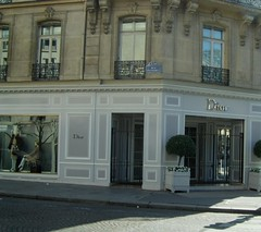 Dior boutique avenue Montaigne