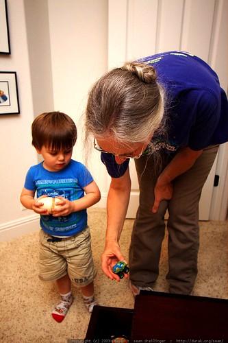 sequoia and grandma anna    MG 1513