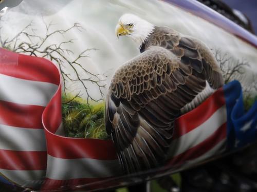 Harley-Davidson Custom Tank Art
