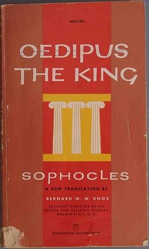 "oedipus the king an aristotle's tragedy The six elements of a tragedy in ""oedipus rex"" aristotle's ""the poetics"" describes the process of a tragedy it is not the guide per se of writing a tragedy but is the idea's aristotle collected while studying tragedies."