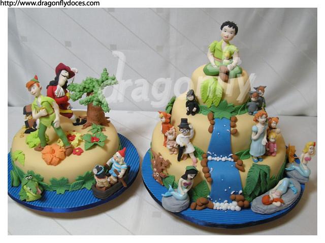 Peter Pan Cakes / Bolos Peter Pan