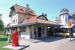 Gare de tram à De Haan Aan Zee