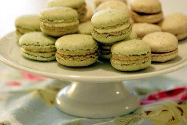 Green Tea Macaron | Flickr - Photo Sharing!