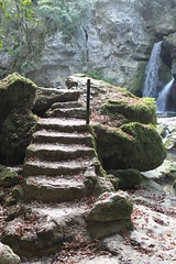 Steps & waterfall