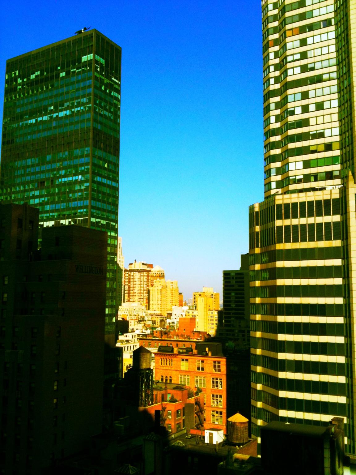Elevation Of Manhattan  New York  Ny  Usa
