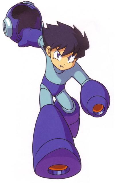 Can Mega Man X take his helmet off?   NeoGAF