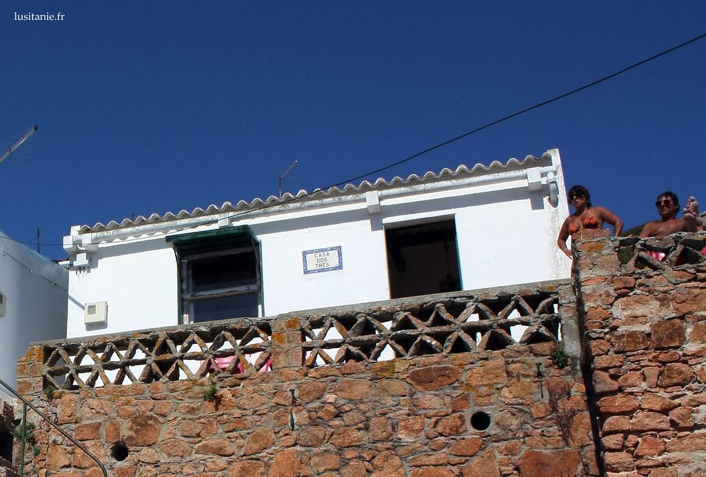 Une maison de pêcheurs à Berlenga Grande, impecablement blanche.