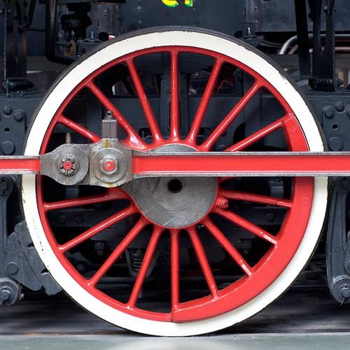 Wheel of Chinese KF 4-8-4