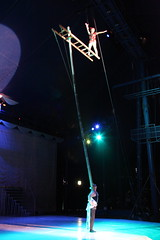 aerialist(0.0), event(1.0), performing arts(1.0), stage(1.0), entertainment(1.0), performance(1.0), acrobatics(1.0), circus(1.0), performance art(1.0),