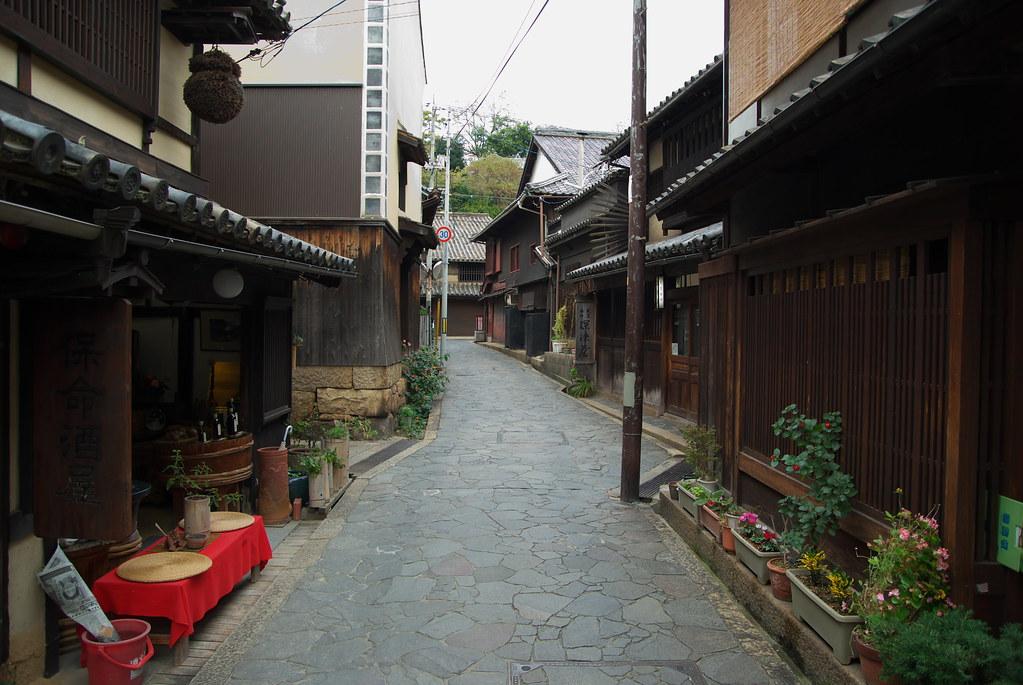 鞆の浦の町並み Town in Tomonoura