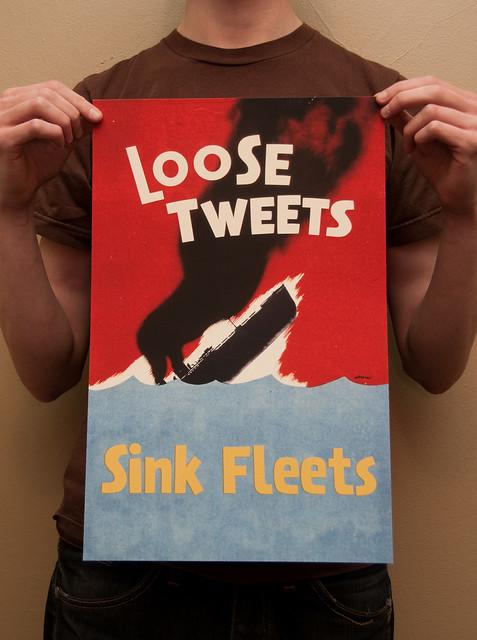 Loose Tweets Sink Fleets