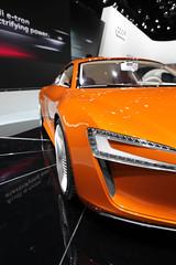 executive car(0.0), audi r8(0.0), automobile(1.0), exhibition(1.0), vehicle(1.0), performance car(1.0), automotive design(1.0), auto show(1.0), city car(1.0), audi e-tron(1.0), concept car(1.0), land vehicle(1.0), supercar(1.0), sports car(1.0),