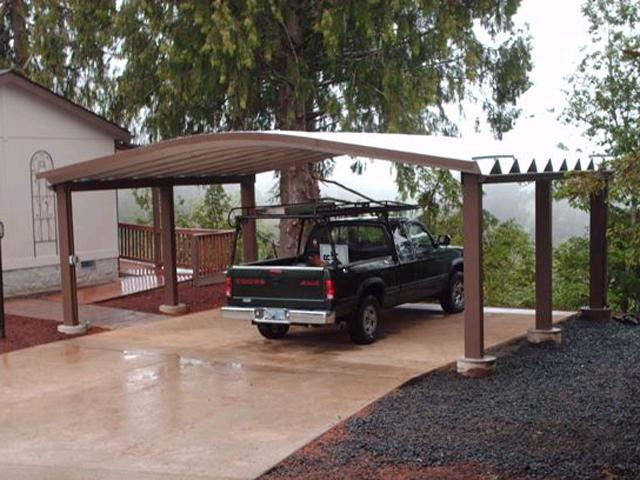 Metal Double Carport : Steelmaster steel double carport flickr photo sharing