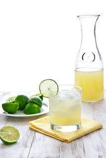 Classic Lime Margaritas