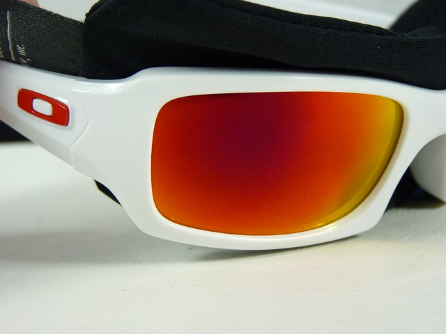 white oakley goggles  oakley five squared polished