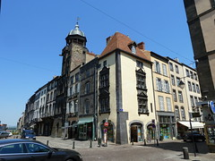 Corner of Rue de l'Horloge and Rue St. Amable at R - Photo of Chappes