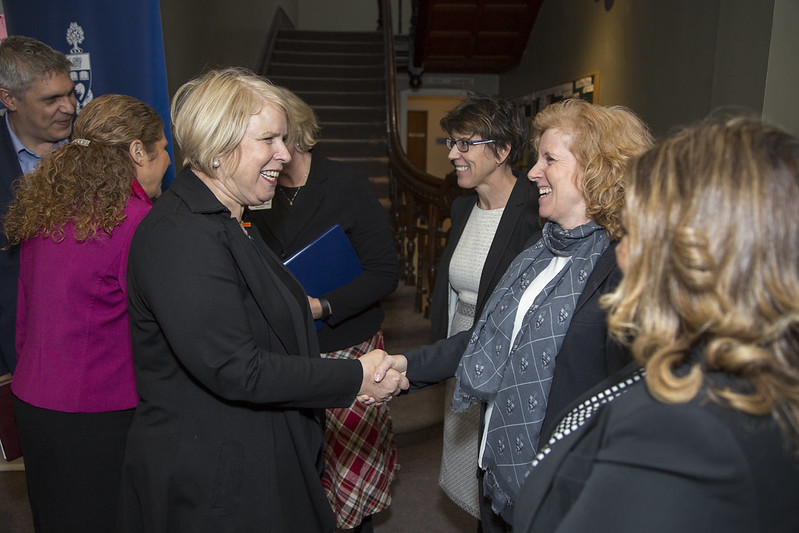 On Feb. 16, 2017, the Ontario Ministry of Citizenship and Immigration came to U of T's Centre for International Excellence to announce that the federal government has expanded the province's 2017 Ontario Immigrant Nominee Program (OINP) by 500 nominees to a total of 6,000. Through the program, Ontario is able to nominate people for permanent resident status, including international students, to  help businesses attract talented people.