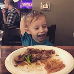 This kid LOVES Thai food. 😂 by bartlewife
