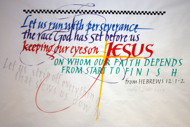 Sermon on Hebrews 12 1 3 http://www.flickr.com/photos/amkelly1787/3704849436/