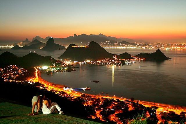 Parque da Cidade - Niterói - Morro da Viração - Rio de Janeiro - Brasil -  Pão de Açúcar - Corcovado