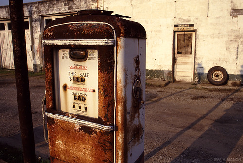 Bardahl Truck Stop, Ligonier, Pennsylvania 1987