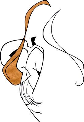 小水滴卡通简笔画-1
